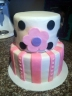 A baby shower cake I made